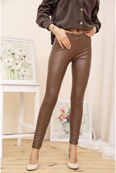 Лосины женские 164R431 цвет Темно-коричневый 52006