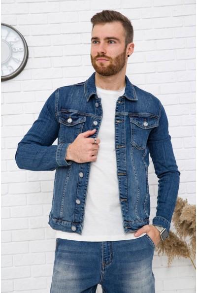 Джинсовая куртка мужская 157R4604 цвет Синий 53525