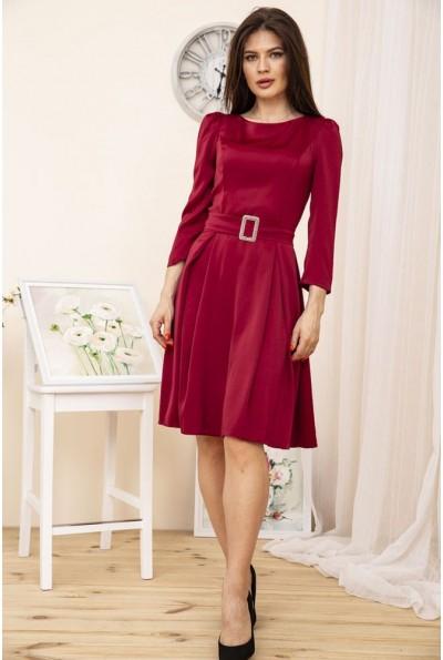 Платье 167R0122-1 цвет Бордовый