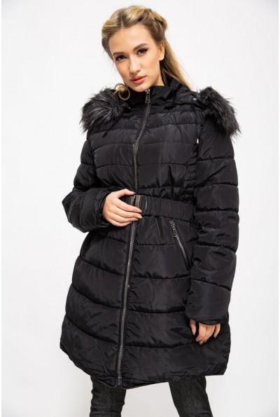 Куртка женская зимняя 129R8287 цвет Черный