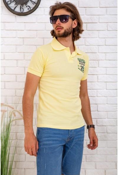 Поло мужское  167R140 цвет Желтый 57949
