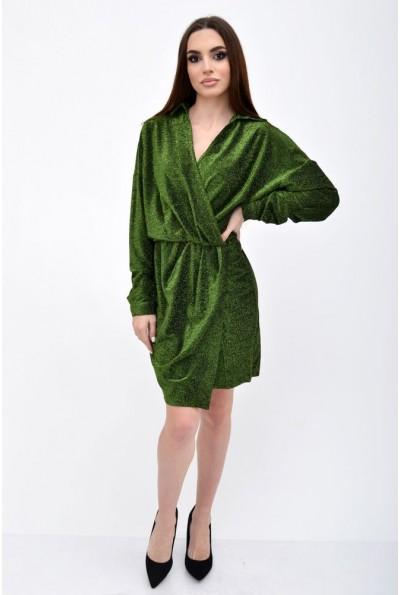 Платье женское 115R361 цвет Зеленый