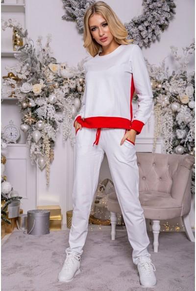 Костюм женский 102R098 цвет Бело-красный