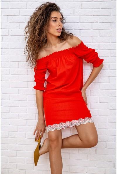 Платье 167R1233 цвет Коралловый 59332