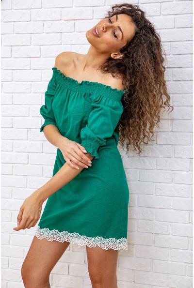 Платье 167R1233 цвет Зеленый 59330
