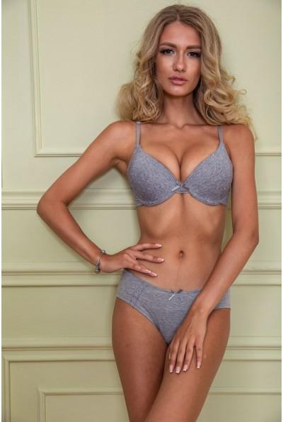Комплект женского белья 131R7438 цвет Серый 40617