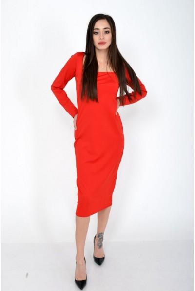 Платье женское 120R0402 цвет Красный