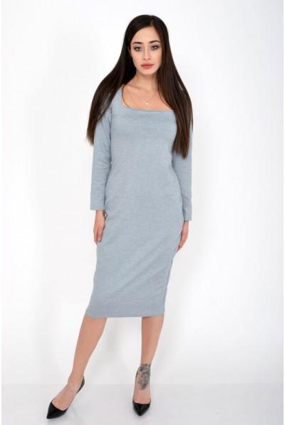 Платье женское 120R0402 цвет Серый