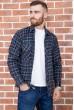 Купить Рубашка мужская фланелевая  цвет сине-черный 129R16114 67225
