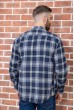 Рубашка мужская фланелевая  цвет сине-желтый 129R16114 цена 709.0000 грн