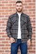 Купить Рубашка мужская фланелевая  цвет серо-бежевый 129R16114 67207