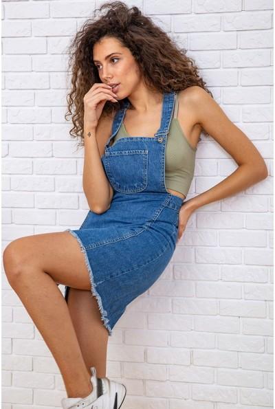 Сарафан женский  цвет голубой 129R2926-7 59832