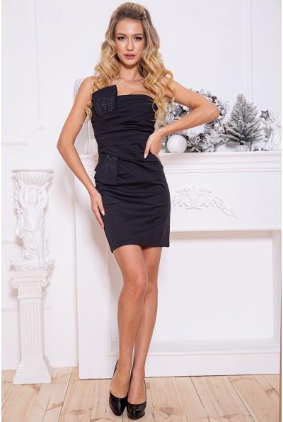 Платье женское 115R16-4 цвет Черно-синий