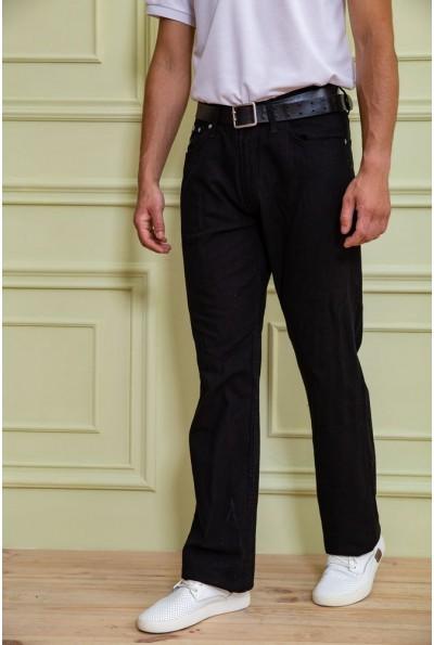 Джинсы мужские  цвет черный 167R7047-1 59717