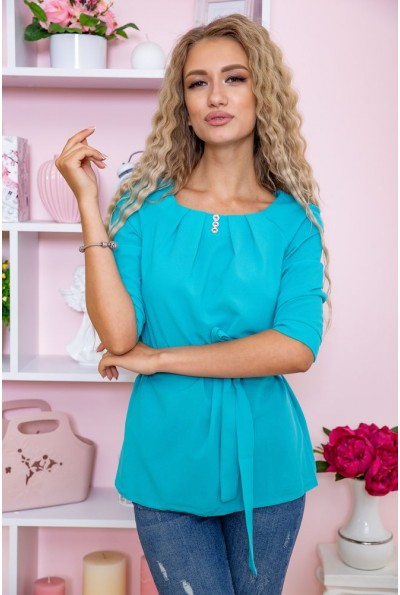 Блуза 172R1-1 цвет Бирюзовый 61514