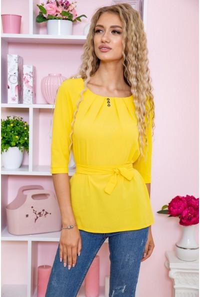 Блуза  цвет желтый 172R1-1 61516