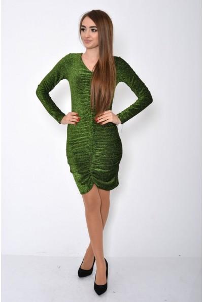 Платье женское 115R351 цвет Зеленый