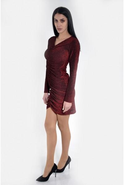 Платье женское 115R351 цвет Красный