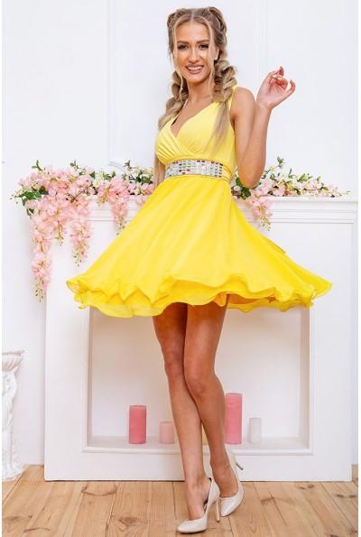Платье 167R854 цвет Желтый 58970