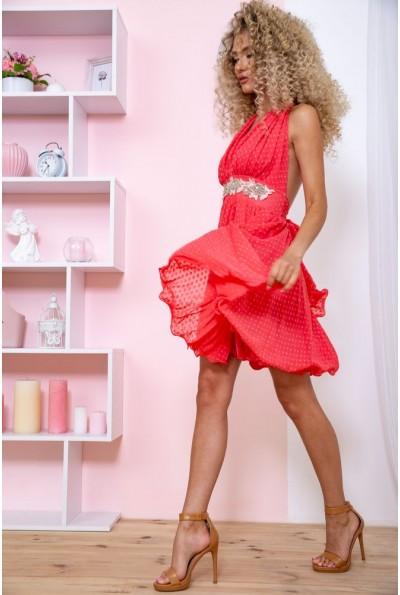 Платье 167R892 цвет Коралловый 59290