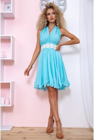 Платье 167R892 цвет Голубой 59288