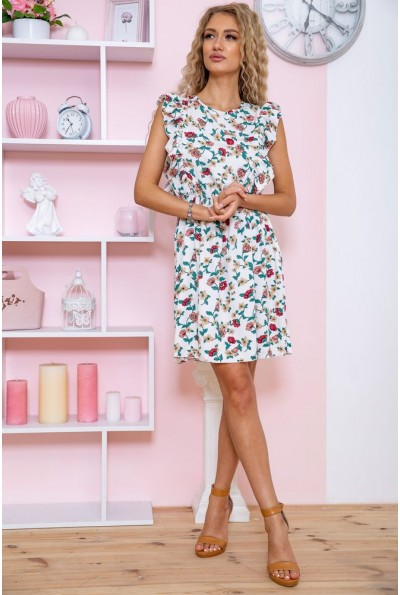Платье женское 115R410-5 цвет Молочный 62046