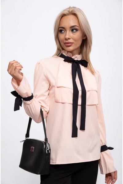 Блуза 115R283-1 цвет Персиковый