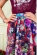 Платье женское  цвет бордовый 119R0419 цена 869.0000 грн