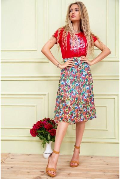 Платье женское  цвет красный 119R0419 31584