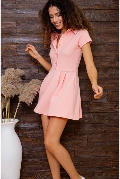 Платье  цвет персиковый 167R7-7 62870