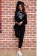 Спорт костюм женский  цвет черный 167R618-1 стоимость
