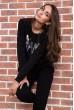 Спорт костюм женский  цвет черный 167R618-1 цена 1249.0000 грн