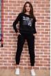 Купить Спорт костюм женский  цвет черный 167R618-1 66034