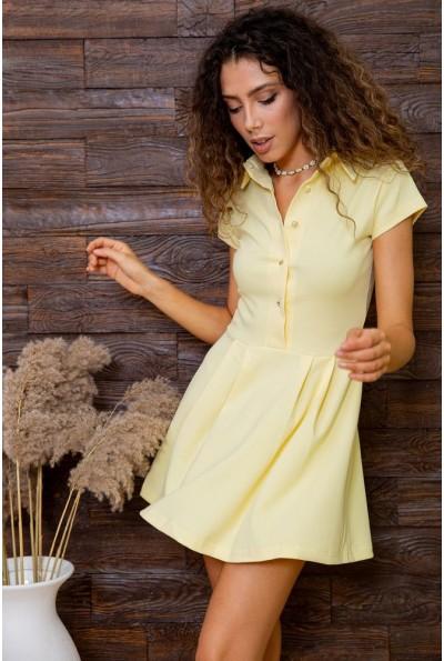 Платье  цвет желтый 167R7-7 62868
