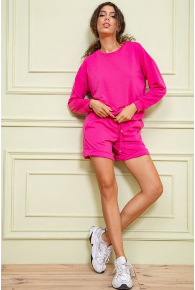 Спорт костюм женский   цвет малиновый 131R004-1 63067