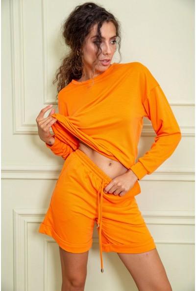 Спорт костюм женский   цвет оранжевый 131R004-1 63071