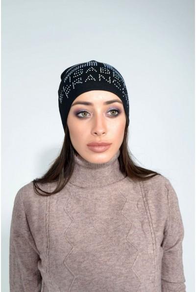 Шапка женская 104R007 цвет Черный