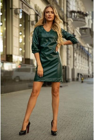 Платье 153R1108 цвет Темно-зеленый