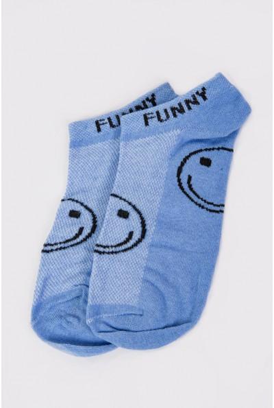 Носки женские короткие  151R103 цвет Голубой 56894