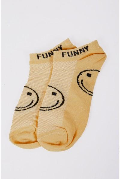 Носки женские короткие  151R103 цвет Желтый 56896