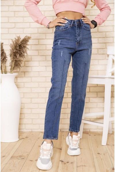 Свободные женские джинсы синего цвета 164R9032 49612