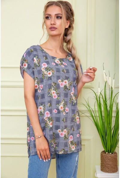 Блуза женская  цвет серый 119R1-1 58604