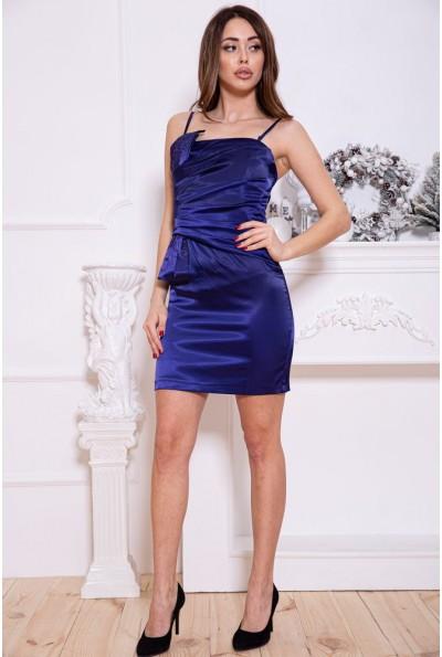 Платье женское 115R16-3 цвет Сине-красный