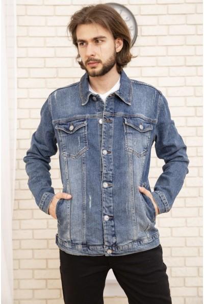 Джинсовая куртка мужская 157R4603 цвет Синий