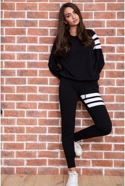 Спорт костюм женский   цвет черный 131R132868 61734