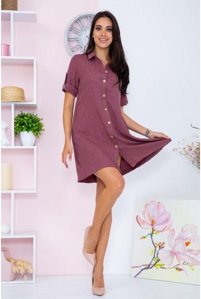 Платье  цвет сливовый 104R0020 67108