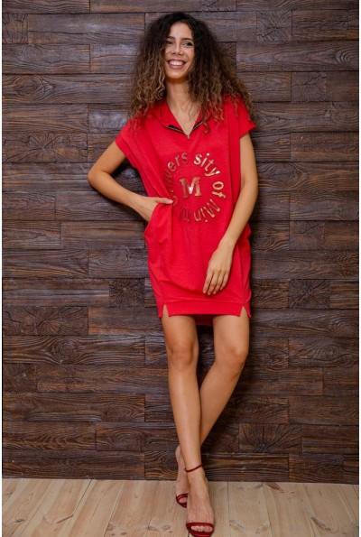 Платье 167R1-8 цвет Красный 62908