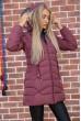 Куртка женская  цвет сливовый 131R2662 цена 2079.0000 грн