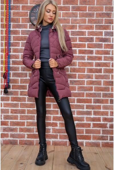 Куртка женская  цвет сливовый 131R2662 67524