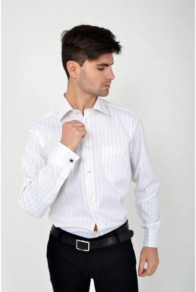 Рубашка  Zeg 113R197 цвет Бело-салатовый